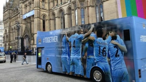 Manchester City bus