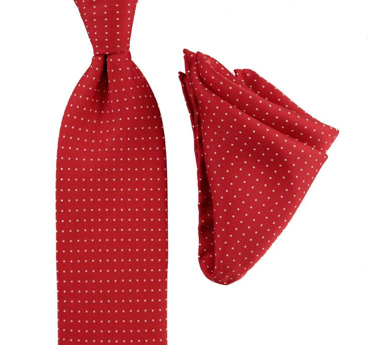 Polka dots are always fun, in this BRIONI Red Polka Dot Silk Tie Pocket Square Handkerchief Set!  |  Have at it! http://www.frieschskys.com/neckwear/ties  |  #instastyle #mensfashion #mensstyle #menswear #dapper #stylish #MadeInItaly #Italy #couture #highfashion