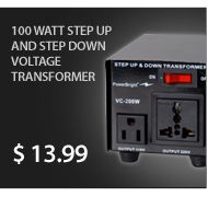 We have different types of Voltage converter. Voltage converter is used for up/down the voltage. Every Voltage converter has different voltage capacity. If you have high voltage than choose high voltage converter.