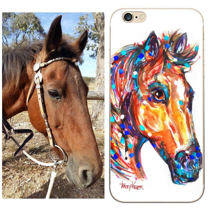 ThankYOU Stacey Turner for entering your beautiful horse into our Pet Portraits Daily Competition. Now look what we have as iPhone 5, 6, 6 plus, 7 and 7 plus cases!! Woot!