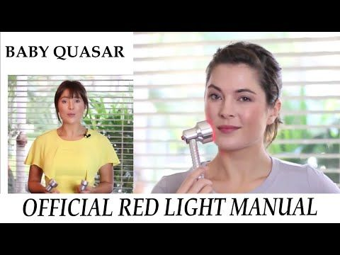 Baby Quasar Red Light – Official How-To Manual / Demo for Treating Wrinkles: Plus and MD Plus – FreshWater Valley
