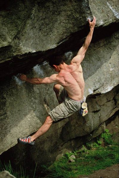 Rock Climbing... Oh how I wish I lived somewhere where I could go everyday... :P It's a passion of mine