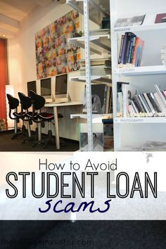 How to avoid student loan scams and not pay $100s to get help with your student loan debt. via @collegeinvestor