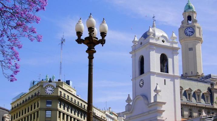 I Buenos Aires, Argentina er der mange smukke historiske bygninger