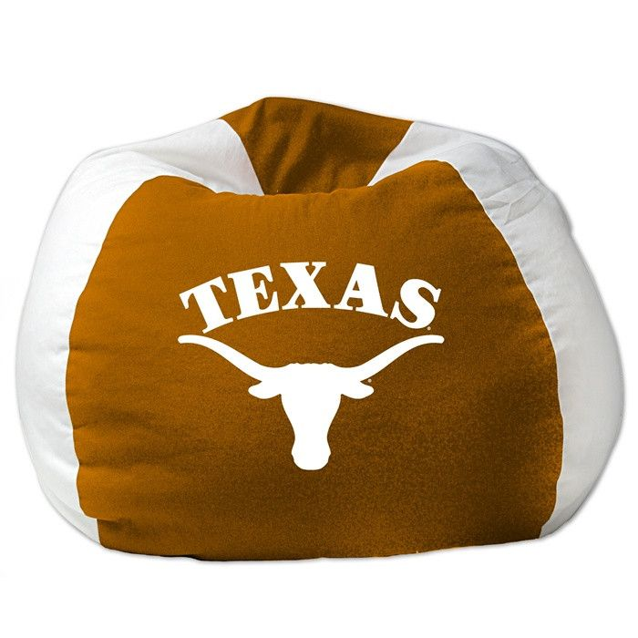 Kids University Of Texas Longhorns Bean Bag Chair Beanbag