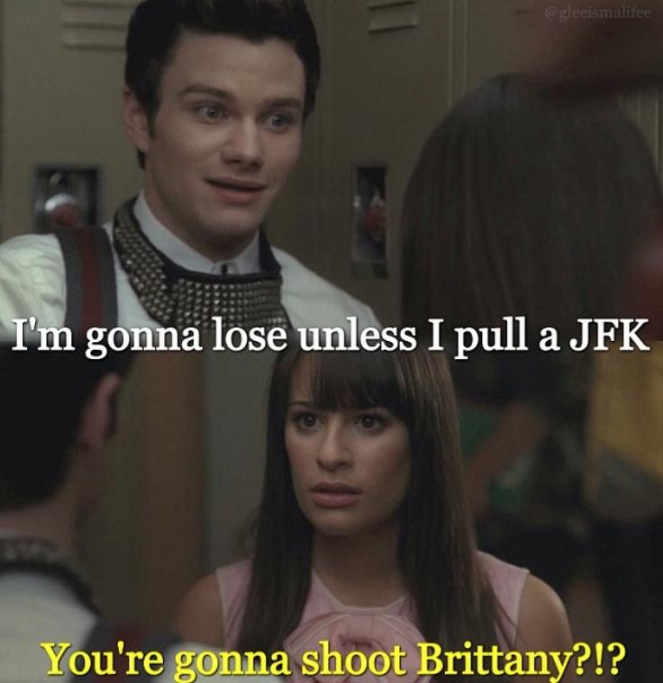 Stupid Rachel...