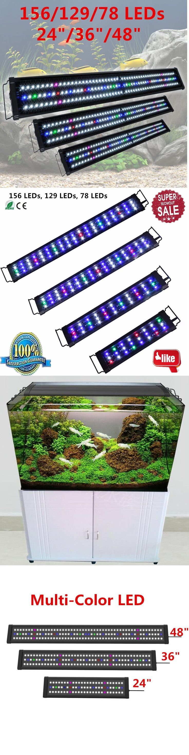 Fish tank lights for sale - Lighting And Bulbs 46314 0 5w 24 36 48 Multi Color Led