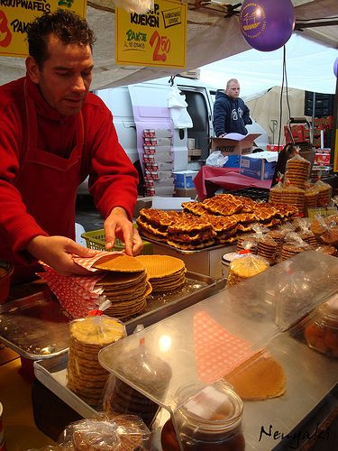 Stroopwafels - Typical Dutch Food - These are so good I can taste them now:)