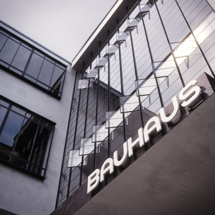 Bauhaus at Dessau Visualization by Bertrand Benoit - 3D Architectural Visualization & Rendering Blog