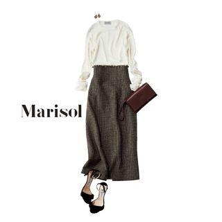 鮮やかカラーコーデから秋先取りコーデまでMarisol ONLINE|女っぷり上々!40代をもっとキレイに。