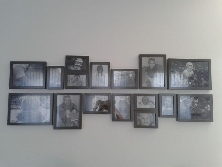 leuke manier voor het ophangen van foto's