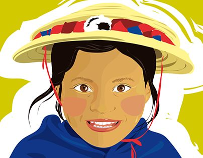 "Check out new work on my @Behance portfolio: ""Niños Nativos"" http://on.be.net/1X8L7rV"