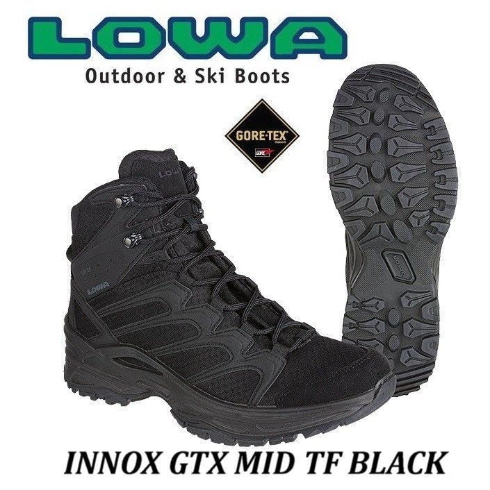 LOWA INNOX GTX MID BLACK