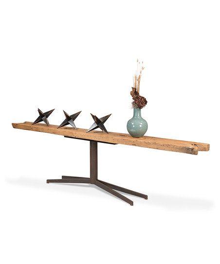 Sarreid Ltd. Rough Wood Console Table   zulily