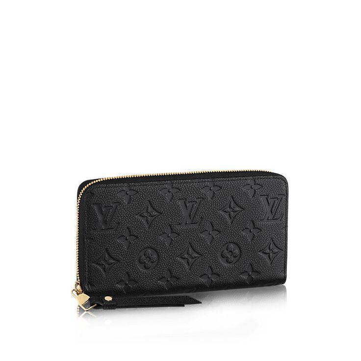 Zippy Wallet - Monogram Empreinte - Small Leather Goods   LOUIS VUITTON