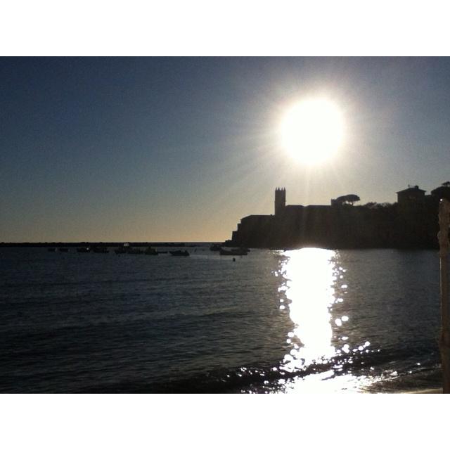 Sestri Levante afternoon sun