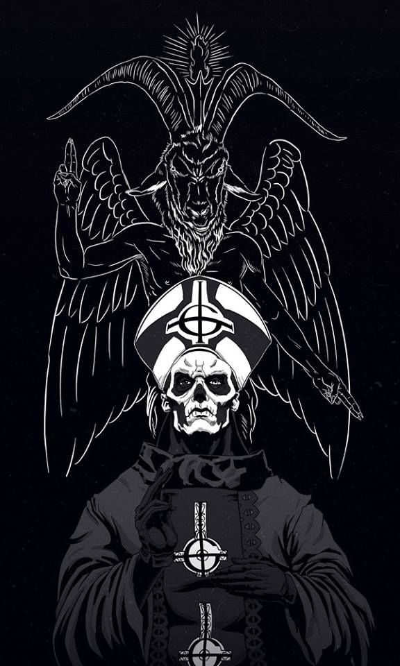 Best 96 Papa Emeritus Images On Pinterest Ghost Bc Rock And Tobias