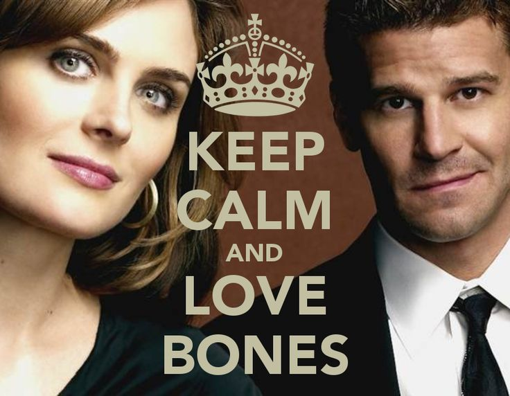 """Bones! with Emily Deschanel as Dr. Temperance """"Bones"""" Brennan and David Boreanaz as Special FBI Agent Seeley Booth. I love this show!"""