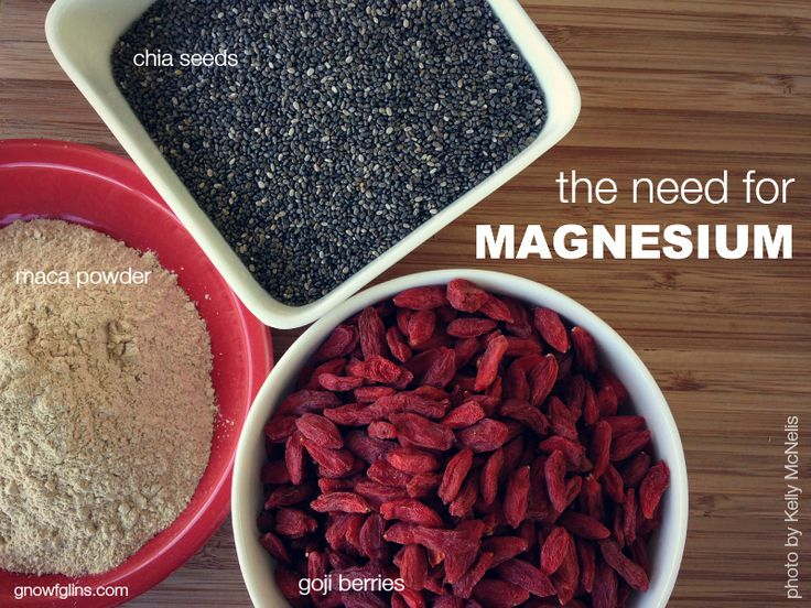 The Need for Magnesium -- with Supplemental Food List