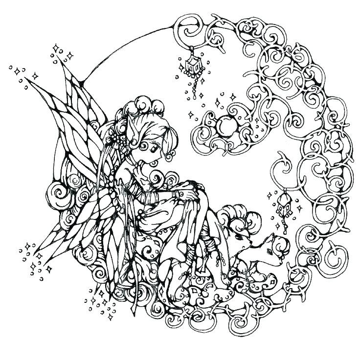 Complex Coloring Pages For Teens And Adults Best Coloring Pages For Kids Fairy Coloring Pages Fairy Coloring Free Coloring Pages