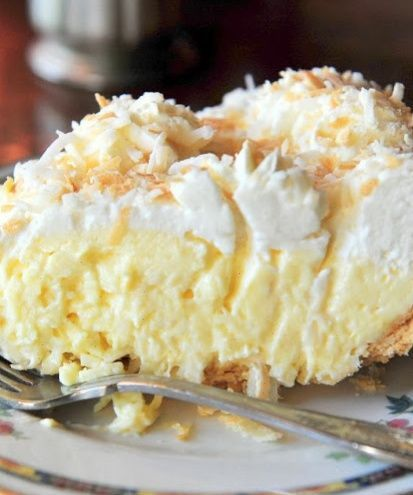 **Must try this before I see Rob again.  learn about cooking: Old Fashioned Coconut Cream Pie  11,15