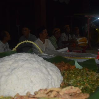 Nasi Penggel dalam Nyadran Bareng di Desa Onje