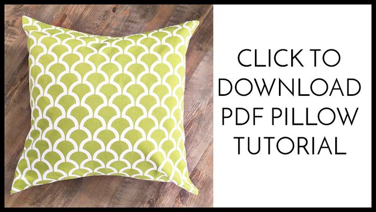 Easy Tips to Make a Professional Pillow Cover - Simple Simon and Company