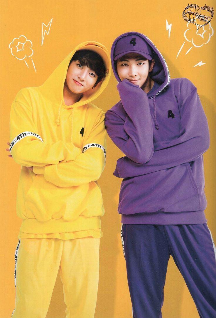Jungkook and RM, Namjoon  BTS