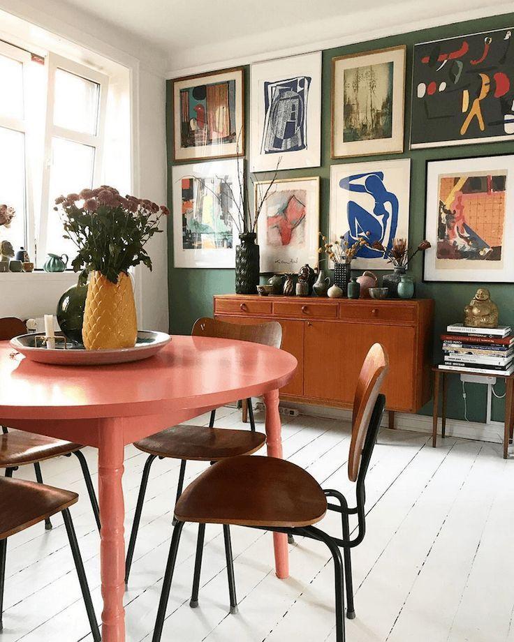 Schnappschüsse aus einem bunten Kopenhagener Haus #Kopenhagen #Farbe #Schnappschüsse