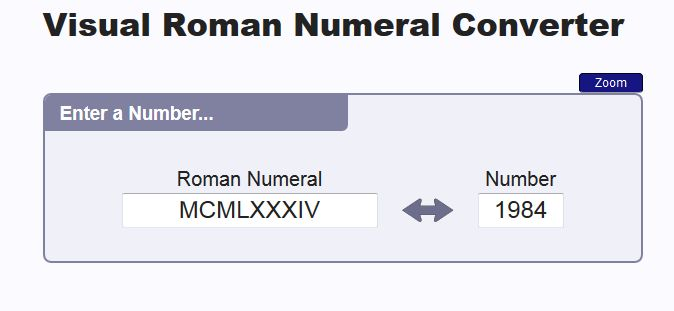 """This is an image from this resource on the Internet4Classrooms' """"Fourth Grade Interactive Math Skills - Roman Numerals"""" resource page:     Visual Roman Numeral Converter.    This is a visual Roman Numeral Converter that is perfect for helping kids actually understand how Roman Numerals are put together."""