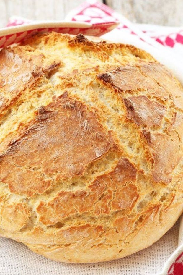 Szódabikarbónás kenyér Ilyen egyszerű receptet még nem láttál! 1