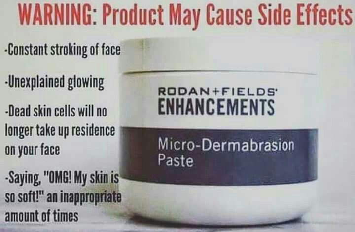 Give Rodan + Fields Microdermabrasion paste a try and you'll fall in love with your skin again! Super soft and glowing! #beautifulskinisin #MicroDermPaste christyc.myrandf.com