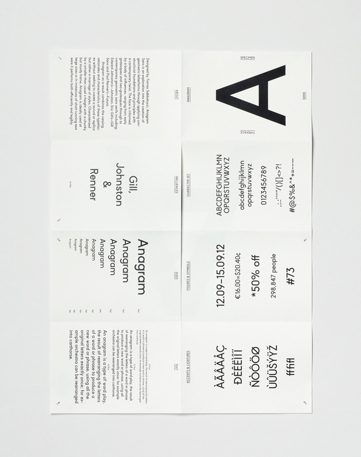 Best Type Specimen Books Images On   Typography