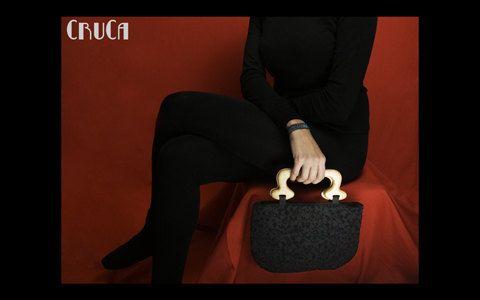 Handbag black /bolso negro on Etsy, 35,00€