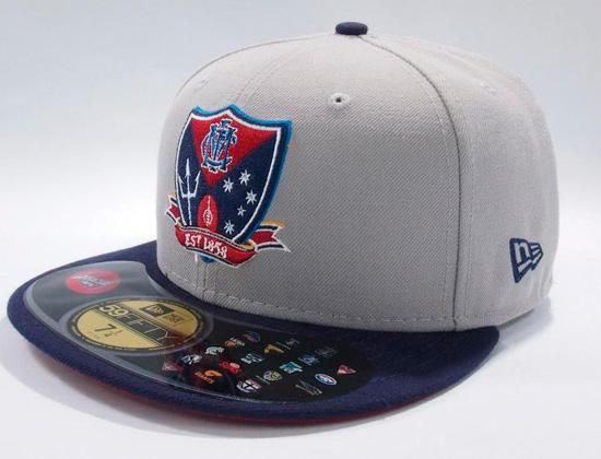 NEW ERA x AFL「Melbourne Demons 2Tone」59Fifty Fitted Baseball Cap