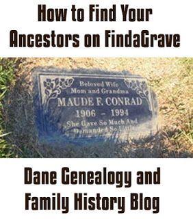 Find your ancestors at FindaGrave. Dane Genealogy and Family History Blog