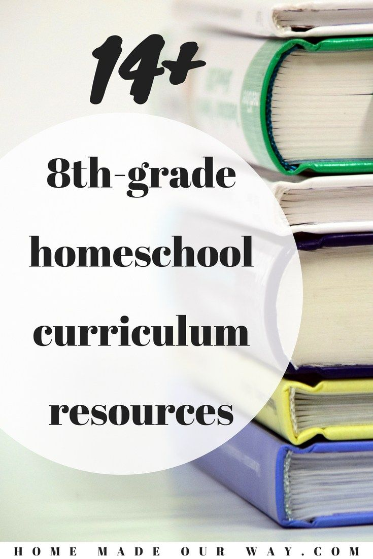 8th Grade Homeschool Curriculum Over 14 Resources To Choose From