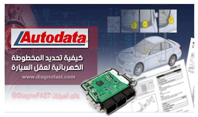 Diagnofast عالم السيارات كيفية تحديد المخطوطة الكهربائية لعقل السيارة Auto Toy Car Car Monopoly Deal