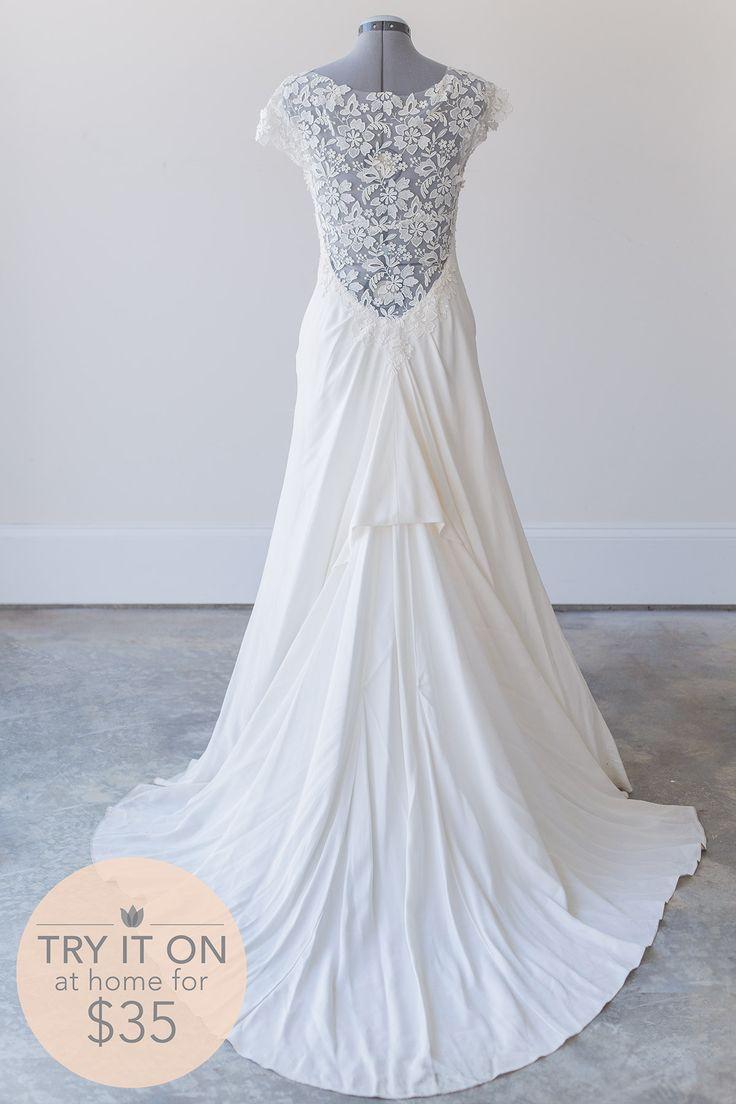 cap sleeve wedding dresses borrow wedding dress Save money on designer wedding dresses with Borrowing Magnolia Rent Lela Rose wedding dresses online
