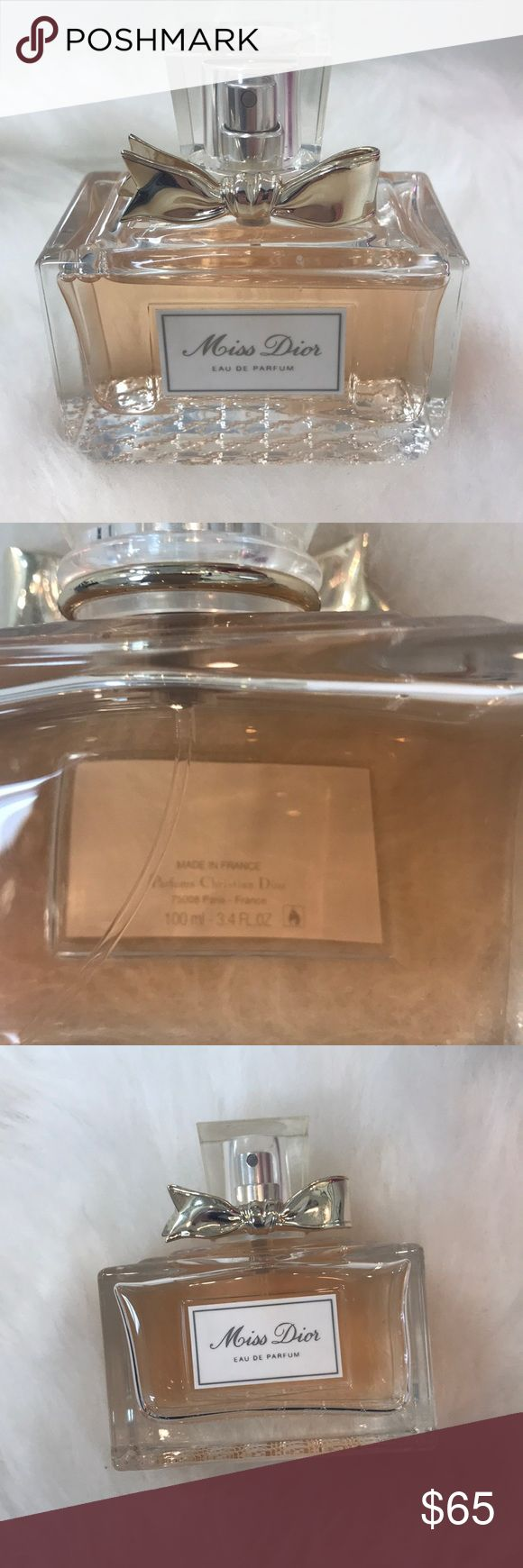 Miss Dior Eau De Parfum I got it as a gift, but it's little too strong for me.    The size is  100ml- 3.4Fl oz  I didn't keep the box. Miss Dior Other