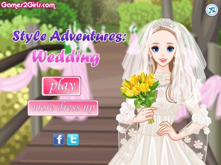 Piękna panna młoda już za kilka godzin wyjdzie za mąż! Dobierz piękną suknie ślubną dla piękności, która pozuje do zdjęć. http://www.ubieranki.eu/ubieranki/9758/slubna-sesja-zdjeciowa.html