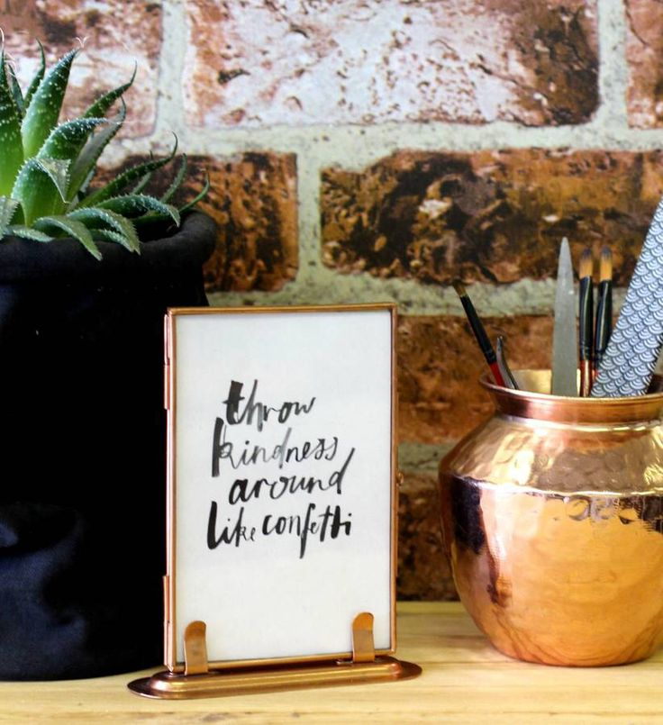 I've just found Copper Photo Frame With Stand. A gorgeous standing copper photo frame. £14.50