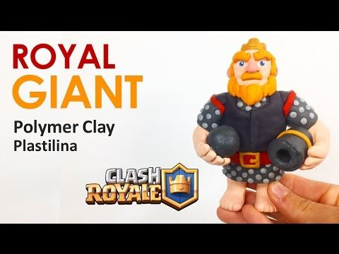ROYAL GIANT (Clash Royale) - Polymer Clay Tutorial