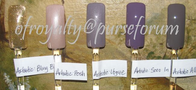 Artistic Colours Gloss - at nails unlimited - Lowell