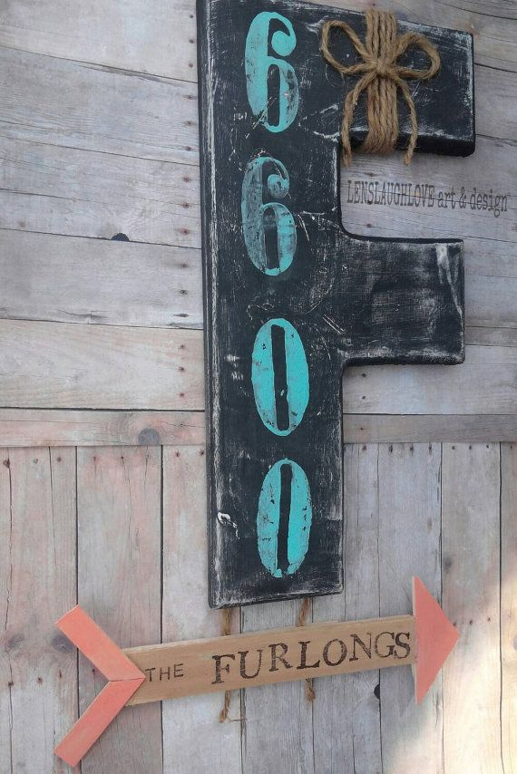 1000 ideas about address signs on pinterest diy house for Front door number plaques