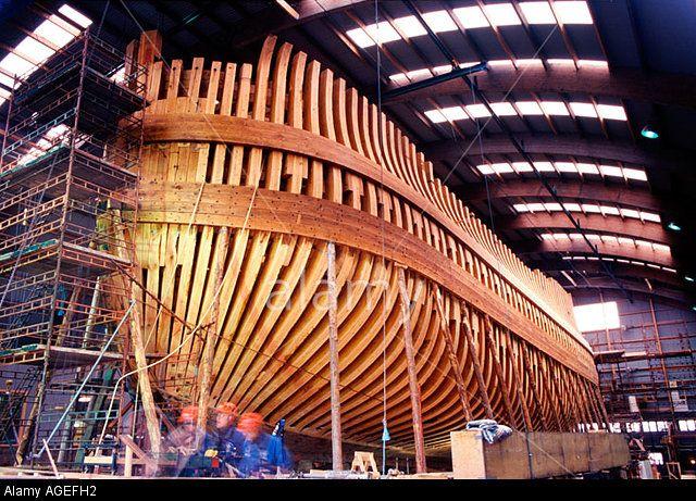 "Wooden Ship Building - East-Indiaman replica ""Göteborg ..."