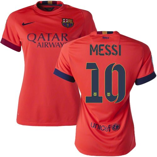 dd2d7e05637 ... Lionel Messi Womens Home Soccer Jersey 1415 Barcelona 10 Argentina ...