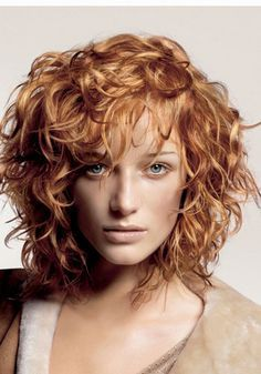 short curly red hair - Google Search