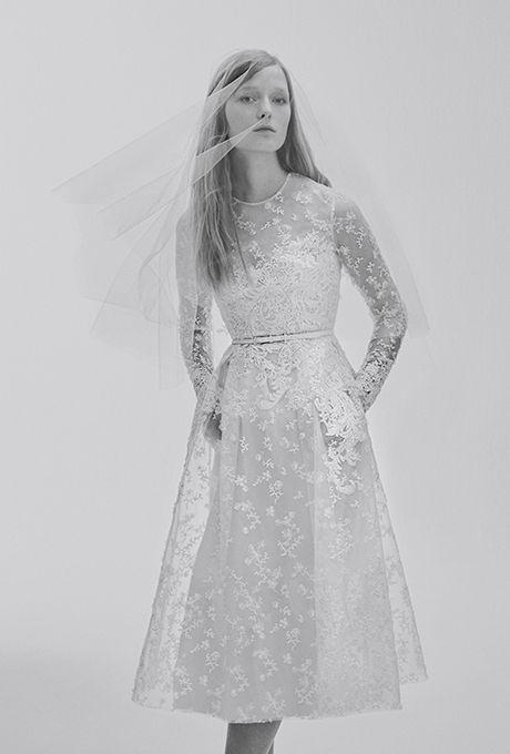 Brides: Elie Saab Bridal Wedding Dresses - Spring 2017 - Bridal Fashion Week