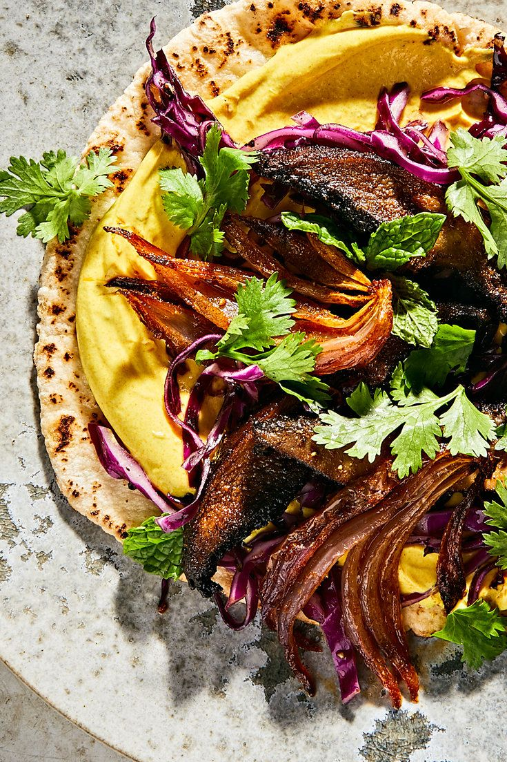 Vegetarian Mushrooms Shawarma Pitas Recipe – NYT Cooking   – Recipes–tried and liked